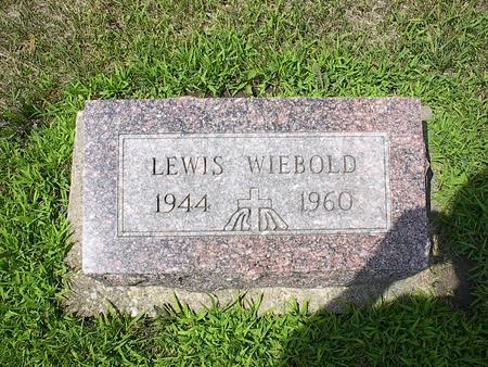 WIEBOLD, LEWIS - Iowa County, Iowa | LEWIS WIEBOLD