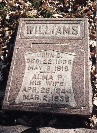 WILLIAMS, JOHN D. - Iowa County, Iowa | JOHN D. WILLIAMS