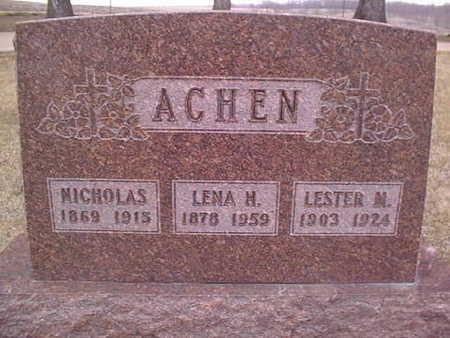 ACHEN, NICHOLAS - Jackson County, Iowa | NICHOLAS ACHEN
