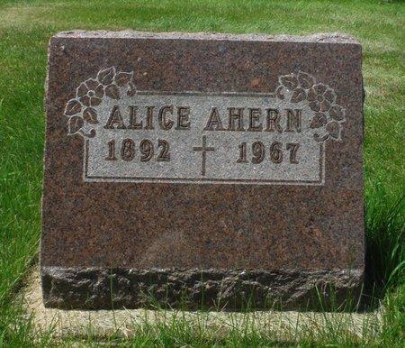 MEEHAN AHERN, ALICE - Jackson County, Iowa | ALICE MEEHAN AHERN