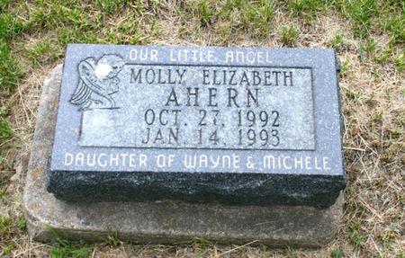 AHERN, MOLLY ELIZABETH - Jackson County, Iowa   MOLLY ELIZABETH AHERN