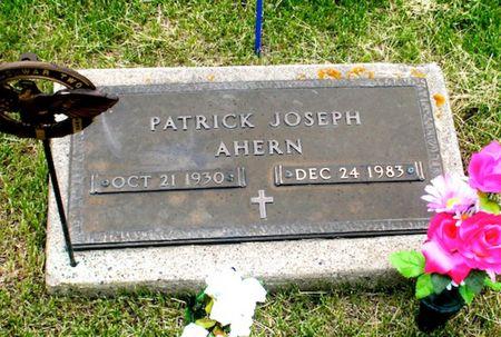 AHERN, PATRICK JOSEPH - Jackson County, Iowa | PATRICK JOSEPH AHERN