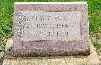 ALLEN, NINA ZOE - Jackson County, Iowa | NINA ZOE ALLEN