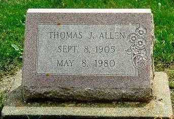 ALLEN, THOMAS J. - Jackson County, Iowa | THOMAS J. ALLEN