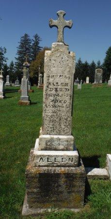ALLEN, THOMAS - Jackson County, Iowa   THOMAS ALLEN