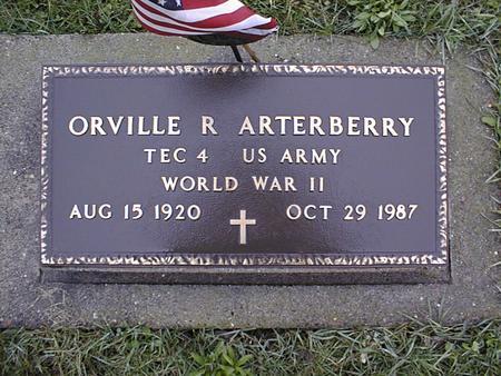 ARTERBERRY, ORVILLE R. - Jackson County, Iowa | ORVILLE R. ARTERBERRY