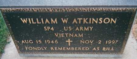 ATKINSON, WILLIAM W. - Jackson County, Iowa | WILLIAM W. ATKINSON