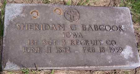 BABCOOK, SHERIDAN G. - Jackson County, Iowa | SHERIDAN G. BABCOOK