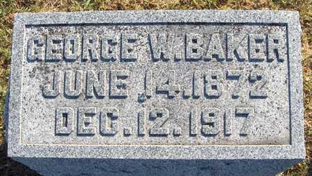 BAKER, GEORGE W. - Jackson County, Iowa | GEORGE W. BAKER