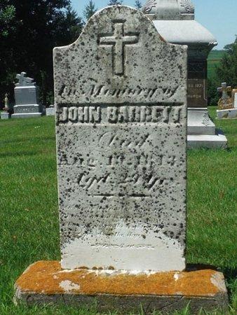BARRETT, JOHN - Jackson County, Iowa | JOHN BARRETT