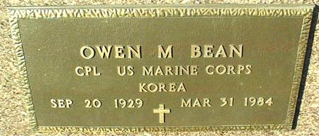 BEAN, OWEN M. - Jackson County, Iowa | OWEN M. BEAN