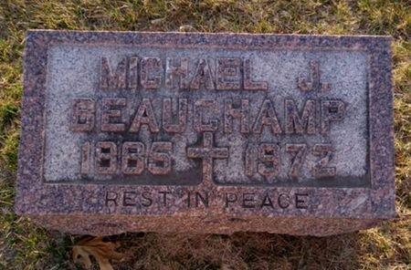 BEAUCHAMP, MICHAEL J. - Jackson County, Iowa   MICHAEL J. BEAUCHAMP