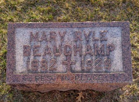 BEAUCHAMP, MARY - Jackson County, Iowa | MARY BEAUCHAMP