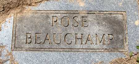 BEAUCHAMP, ROSE - Jackson County, Iowa | ROSE BEAUCHAMP