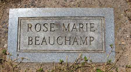 BEAUCHAMP, ROSE MARIE - Jackson County, Iowa | ROSE MARIE BEAUCHAMP