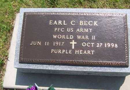 BECK, EARL C. - Jackson County, Iowa | EARL C. BECK