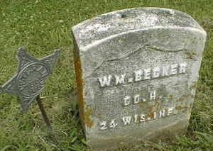BECKER, WM. - Jackson County, Iowa   WM. BECKER