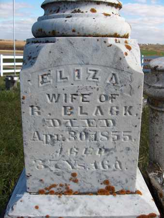 BLACK, ELIZA - Jackson County, Iowa | ELIZA BLACK