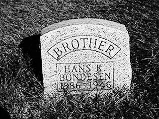 BONDESEN, HANS - Jackson County, Iowa | HANS BONDESEN
