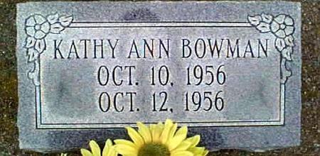 BOWMAN, KATHY ANN - Jackson County, Iowa | KATHY ANN BOWMAN