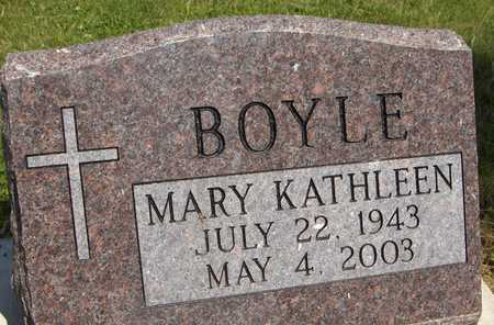 BOYLE, MARY KATHLEEN - Jackson County, Iowa | MARY KATHLEEN BOYLE