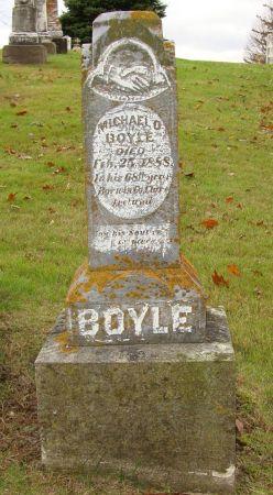 BOYLE, MICHAEL O. - Jackson County, Iowa   MICHAEL O. BOYLE