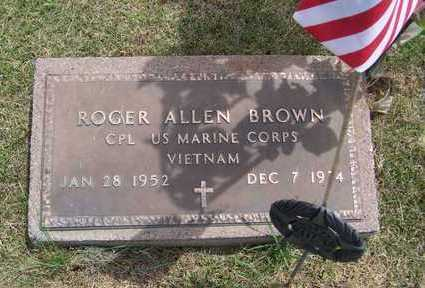 BROWN, ROGER ALLEN - Jackson County, Iowa | ROGER ALLEN BROWN