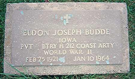 BUDDE, ELDON JOSEPH - Jackson County, Iowa | ELDON JOSEPH BUDDE