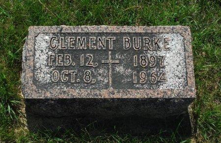 BURKE, CLEMENT - Jackson County, Iowa | CLEMENT BURKE