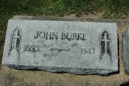 BURKE, JOHN - Jackson County, Iowa | JOHN BURKE