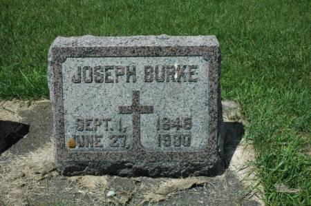 BURKE, JOSEPH - Jackson County, Iowa | JOSEPH BURKE