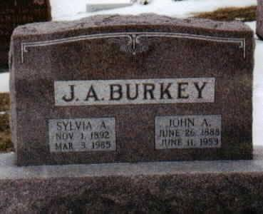 BURKEY, JOHN - Jackson County, Iowa | JOHN BURKEY