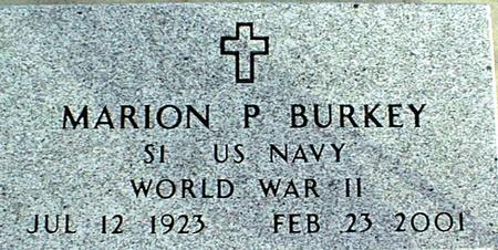 BURKEY, MARION P. - Jackson County, Iowa | MARION P. BURKEY