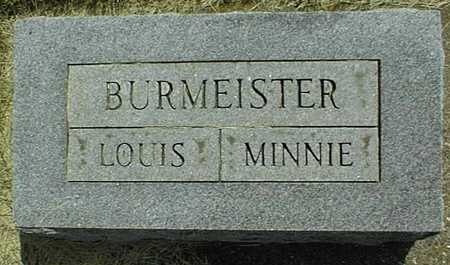 BURMEISTER, MINNIE - Jackson County, Iowa | MINNIE BURMEISTER