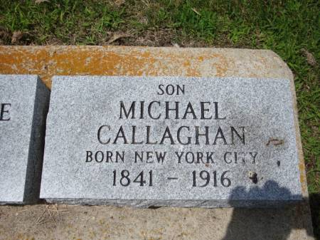 CALLAHAN, MICHAEL - Jackson County, Iowa   MICHAEL CALLAHAN