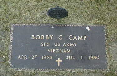 CAMP, BOBBY G. - Jackson County, Iowa | BOBBY G. CAMP