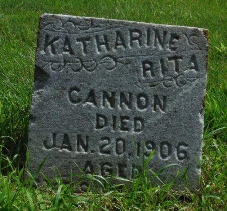 CANNON, KATHARINE RITA - Jackson County, Iowa | KATHARINE RITA CANNON