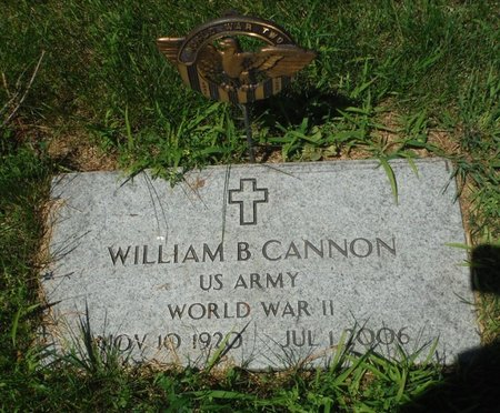 CANNON, WILLIAM B. - Jackson County, Iowa | WILLIAM B. CANNON