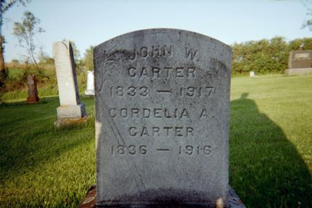CARTER, JOHN W. - Jackson County, Iowa | JOHN W. CARTER