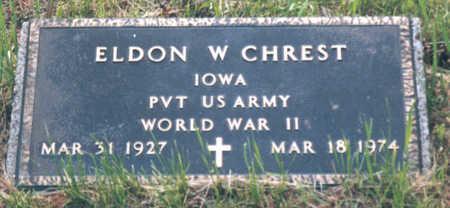 CHREST, ELDON WAYNE - Jackson County, Iowa | ELDON WAYNE CHREST