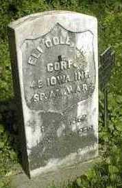 COLE,  CORP. ELI, JR. - Jackson County, Iowa |  CORP. ELI, JR. COLE