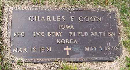 COON, CHARLES F. - Jackson County, Iowa | CHARLES F. COON
