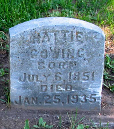 COWING, HARRIET - Jackson County, Iowa | HARRIET COWING