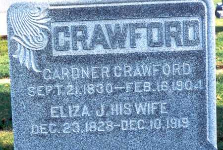 GRAY CRAWFORD, ELIZA JANE - Jackson County, Iowa | ELIZA JANE GRAY CRAWFORD