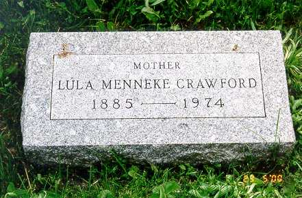 CRAWFORD, LULA - Jackson County, Iowa | LULA CRAWFORD