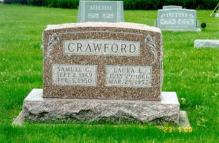 BURTON CRAWFORD, LAURA E. - Jackson County, Iowa | LAURA E. BURTON CRAWFORD