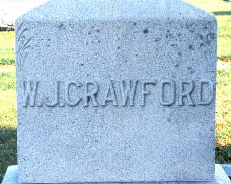 CRAWFORD, WILLIAM JAMES - Jackson County, Iowa | WILLIAM JAMES CRAWFORD