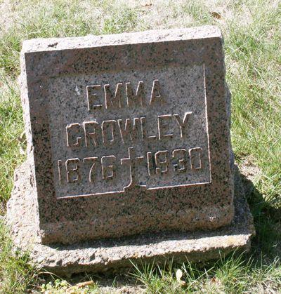 LYNCH CROWLEY, EMMA - Jackson County, Iowa | EMMA LYNCH CROWLEY