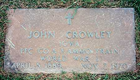 CROWLEY, JOHN - Jackson County, Iowa | JOHN CROWLEY