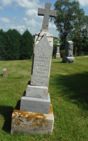 CROWLEY, MARGARET - Jackson County, Iowa | MARGARET CROWLEY